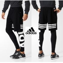 ★adidas★Linear 3-Stripes Two-in-One Pants レイヤーパンツ