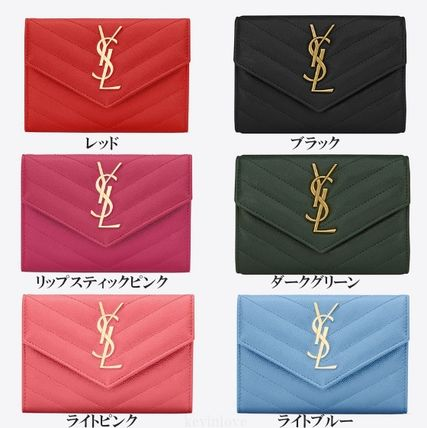 Cute new colors in stock SAINT LAURENT Monogram purse