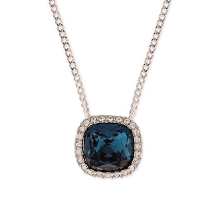 Buyma givenchyblue crystal pendant necklace 21222948 givenchy givenchyblue crystal pendant necklace mozeypictures Image collections
