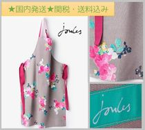 Joules Clothing(ジュールズ クロージング) エプロン 【Joules Clothing】 PINNYフラワープリントエプロン/グレー
