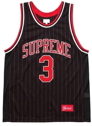 Supreme 16SS rossover Basketball Jersey 黒 Size MEDIUM
