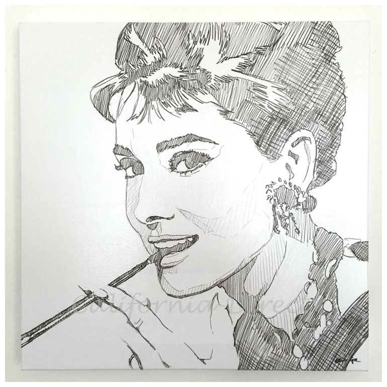 Oliver Gal Breakfast at Tiffany's キャンバスアート