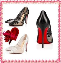 CHRISTIAN LOUBOUTINの靴♪**Follies Lace Fleuri kid**120mm