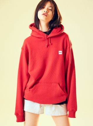 (87mm) ☆☆ SIMPLY MM LOGO HOOD (RED)☆☆