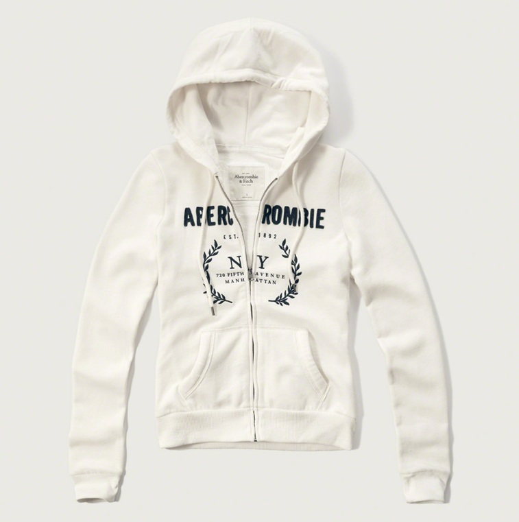 ★即発送★在庫あり★A&F★Embroidered Logo Graphic Hoodie★