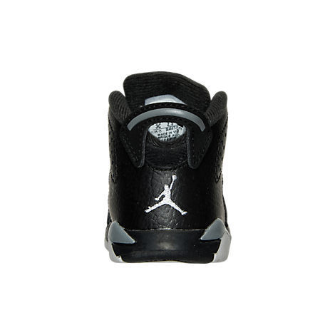 SS16 AIR JORDAN RETRO 6 TD BLACK GREY 10-16cm 送料無料