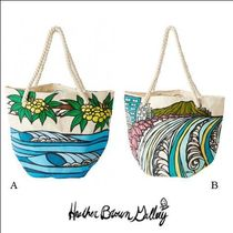Heather Brown(ヘザーブラウン) マザーズバッグ マザーズバッグも夏仕様【Heather Brown】 Rope Handle Tote Bag