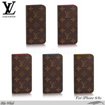 関税込◆LOUIS VUITTON◆MONOGRAM☆iPhone 6/6s フォリオケース