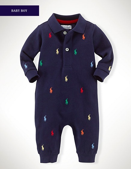新作♪ 国内発送 CLASSIC PONY COTTON COVERALL  BOYS 0~24M