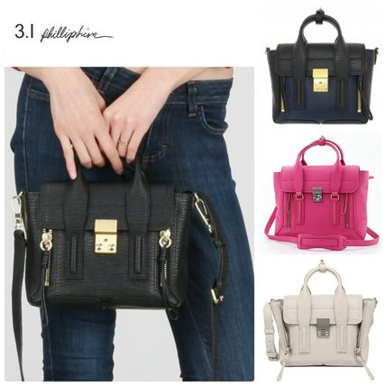 3.1 Phillip Lim PASHLI MINI SATCHEL 5 color with
