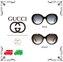 GUCCI*グッチ* 【大人気】Oval-frame acetate☆新作サングラス♪