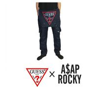 JSB愛用!Guess x ASAP ROCKEY TAILORED OVERALL ジーンズ