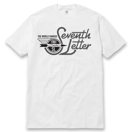 THE SEVENTH LETTER SOUTHERN TEE WHITE