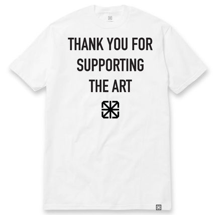 THE SEVENTH LETTER SUPPORTER TEE WHITE
