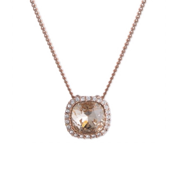 ★Givenchy★Crystal Pendant Necklace