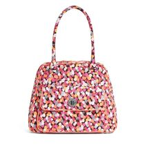 在庫有即発 ★Turn Lock Satchel in Pixie Confetti