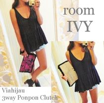 roomIVY×Via hijau!!人気の新作3wayJuteClutch 2type