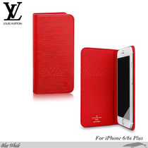 関税込◆LOUIS VUITTON◆EPI*iPhone6/6s Plusフォリオケース RED