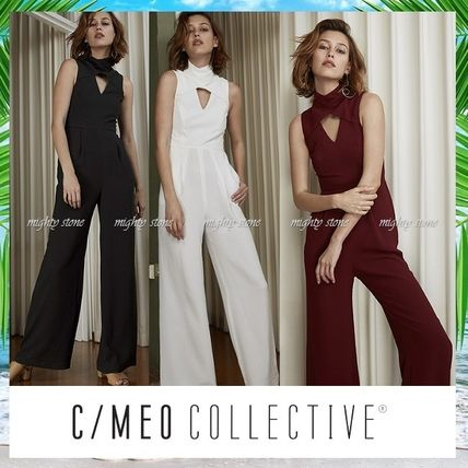 CAMEO origami pleated trouser suit