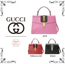 GUCCI*グッチ* 【新作】Sylvie leather top handle bag☆ 人気♪