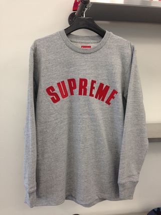 16SS 追尾/関税込 即発 SUPREME arc logo L/S top