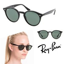 ☆ユニセックス☆ Ray Ban Black / Green Lens (RB2180)