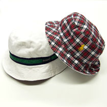 リバーシブル!Ralph Lauren Reversible Plaid Bucket Hat