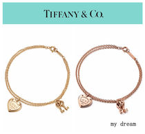 日本未入荷♪【Tiffany & Co】Love Heart Tag Key Bracelet