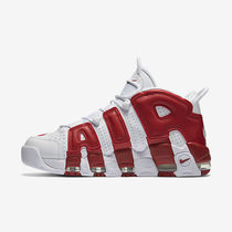 【レア NIKE】Air More Uptempo White RED 414962 100