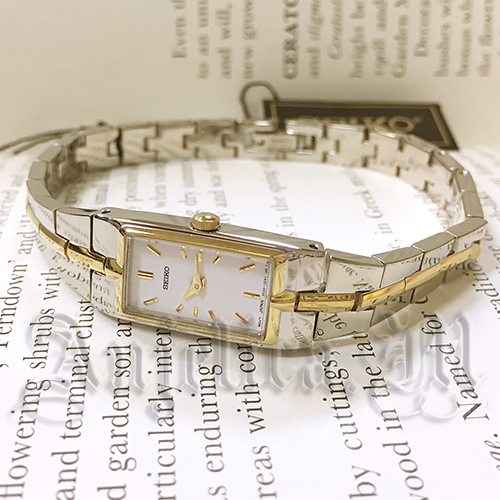 ★逆輸入・在庫あり★Seiko Dress Two Tone Watch SZZC40