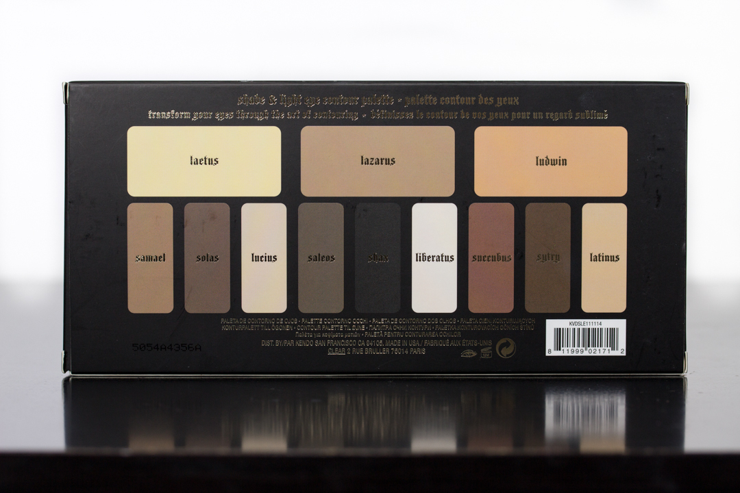 Shade + Light Eye Contour Palette★アイシャドウ★
