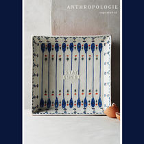 Anthropologie(アンソロポロジー) 食器(皿) 日本未入荷☆ANTHRO Handpainted Lucerne Brownie Pan