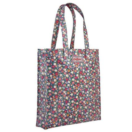 [Cath Kidston正規品] ブックバッグ MEADOW DITSY BLUE