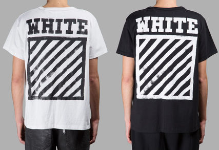 16-17 FW Off-White BRUSHED DIAGONALS t-shirt