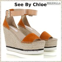 国内発送VIP価格★See by Chloe★Wedge espadrillas