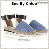 国内発送VIP価格★See by Chloe★Wedge espadrillas flat