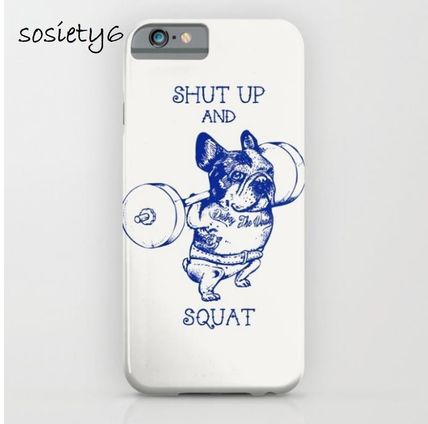 Society6★GALAXY& iPhoneケース ★Frenchie Squat