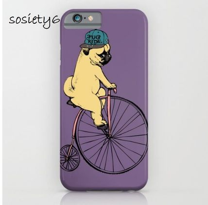Society6★GALAXY& iPhoneケース ★Pug Ride