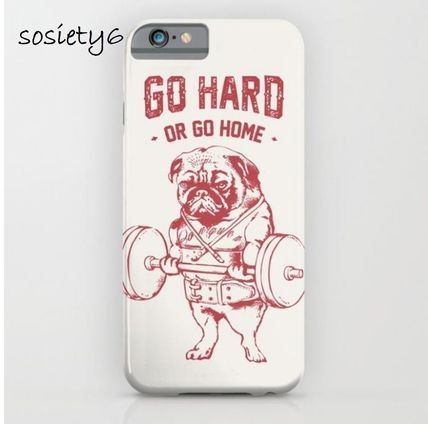 Society6★GALAXY& iPhoneケース ★GO HARD OR GO HOME