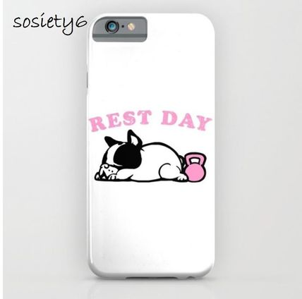 Society6★GALAXY& iPhoneケース ★Rest Day Frenchie