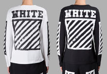 【関税負担】16-17FW☆Off-White☆BRUSHED DIAGONALS シャツ