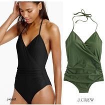 J.CREW HALTER WRAP ONE-PIECE SWIMSUIT ワンピース国内発送