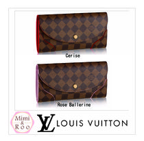 Louis Vuitton*ダミエ☆*PORTEFEUILLE CAISSA☆*2つ折り財布
