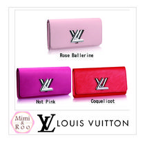 Louis Vuitton*エピ☆*PORTEFEUILLE TWIST☆2つ折り財布