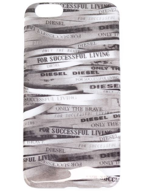 ☆大人気☆DIESEL // logo printed iPhone 6 Plus case