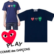 ● COMME des GARCONS ● Play Printed Heart Tシャツ ネイビー