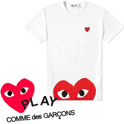 ● COMME des GARCONS ● Play Oversized Heart Tシャツ 白