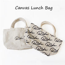 【NEW】Canvas Lunch Bag -[ロゴ ミニトート サブバッグ]