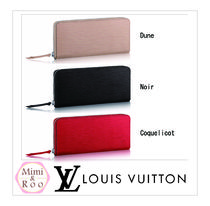 Louis Vuitton*エピ*PORTEFEUILLE CLEMENCE*ジップ☆長財布