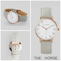日本未上陸【THE HORSE】 The Classic Rose Gold/Grey Leather